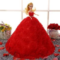 Wholesale 3 d eye really special doll dress birthday is June children s day the princess bride girl Chloe Snow White