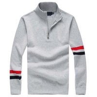 big blue computer - Big Horse Mens sweaters luxury sweater jersey hombre jumper polo ralphmen pullover cashmere wool casual long sleeve