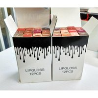 Wholesale New Color Kylie Jenner Liquid Lipstick Kylie Jenner Matte Lipstick Dead of knight Cosmetics Lip Kits Matte Lip Gloss