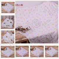 bath receiving blanket - 12 design KKA135 Swaddle Blanket Animal Print Towels Air Condition Blankets Cotton Blanket Receiving Blanket Quilt Bath Towels