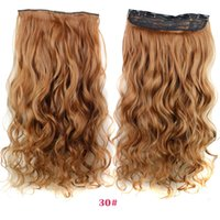 Wholesale Strawberry Blond Clip in Human Hair Extensions Brazilian Hair pieces g High end Blonde Human Hair