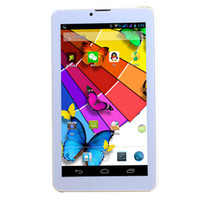Wholesale 7 inch dual sim Smart flat panel tablet mobile phone MB GB MTK8312 GHZ WIFI dual GPS support TF card mm slim body mAh G WiFi