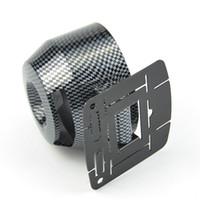 Wholesale 60mm Carbon Fiber Car Auto gauge pods holders motorcycle Racing Refit Car meter pods