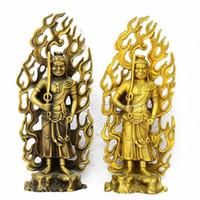 adornos de cobre, Acala, Acalanatha, Buda, Bodhisattva, estatua, budismo tibetano, el Señor Buda, estatuilla, figura