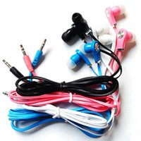 bass cheap - Noodles Type Cheap Headphone Suitable For Line Finder environmental protection Earphone In Ear Wired Mega Bass Headset lc