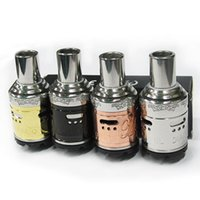 Cheap Vaporizer Mephisto V2 RDA RBA Atomizer Rebuildable Clone Dripping RDA Tank Electronic Cigarette SS Black Brass Copper DHL Free