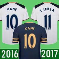alli black - Thai quality TottenhamIzers Men s football shirt ALLI ERIKSEN Kane camiseta de foot Soccer Jersey Fash Shipping
