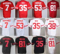 anquan boldin - Best Quality Colin Kaepernick Jerseys Uniforms Eric Reid NaVorro Bowman Anquan Boldin Jersey Team Red White Color Stitched Logos