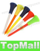 Wholesale LAI Multi Color Plastic Golf Tees mm Durable Rubber Cushion Top Golf Tee Golf Accessories