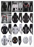 beige turtleneck - Autumn and winter fashion men s brand PP sports suit jacket men leisure pure color high quality skull Philipp Plein Sports Camisetas