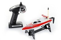 Wholesale F16237 Feilun FT008 CH GHz Mhz RTR RC Mini High Speed Boat Remote Control Racing Speed Electric Toys Hobby