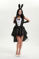 adult animal halloween costumes - Bunny Girl Rabbit Women Cosplay Sexy Halloween Adult Animal Costume Fancy Dress Clubwear Party Wear Plus Size M XL