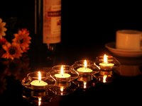 Wholesale X Transparent Floating Glass Candle Holder Wedding Home Table Decorative centerpieces Romantic Dinner Xmas