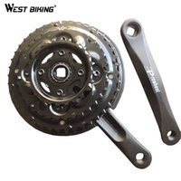 alloy wheel protection - Bicycle Chain Wheel Aluminum Alloy T Bike Crank mm With Protection Cover MTB Cycling Bicycle Crank Chainwheel Suit