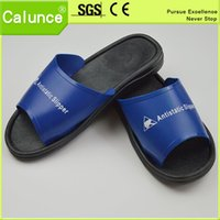 Wholesale PVC material Comfortable ESD cleanroom slipper