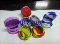 Wholesale 7 ML multicolor Nonstick silcone container silicone container jars balls
