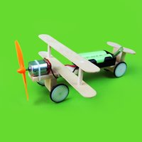 aircraft production technology - Electric gliding aircraft small production DIY science and technology small invention student science experiment manual material model