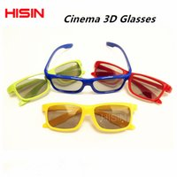 Wholesale BEST Quality D Vision Cinema D Glasses Passive Polarized D Theater Stereo Glasses Pieces Set