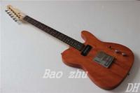 Wholesale Custom Shop Nature wood TL Electric Guitar