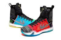 Wholesale High Quality Kobe X Elite What The Men Basketball Sneakers kobe Athletic Basketball Shoes Walking Shoes