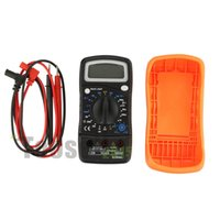 Wholesale LCD Digital Multimeter AC DC VOLT Meter Voltmeter Ohmmeter Ammeter