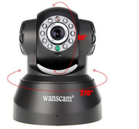 Wholesale Camera CCTV IR Camera arrive Way Audio Wireless Network Internet Wifi RJ45 Night Vision IP Camera Indoor Home Surveillance CCTV domeCamera