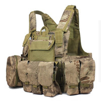 Wholesale Kryptek Mandrake typhon highlander nomad molle paintball game vest caza military vests