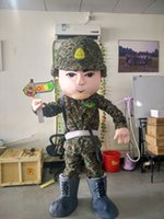 army soldier pictures - OISK Army Soldier Mascot Costumes Cartoon Character Fancy Dress Adult Size Real Picture