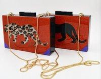 animal crossing patterns - Newr Acrylic animal pattern Casual Bag Crossbody bag women Party bag shoulder bags evening bag