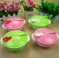 baby food factory - Mothers And Kids supplies Baby Bowls With Suckers That Made of Food Grade PP Material Factory Outlet