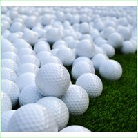 beginner golf balls - 3 Pieces Indoor Outdoor Rubber Practice Training Golf Balls for Beginners