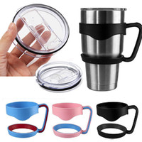 Wholesale yeti cup lid Portable Plastic Hand handle Holder Mugs Portable Hand Holder For YETI Rambler Tumbler oz oz Cups Rambler Handle
