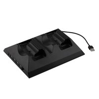 Nuevo 4 en 1 estación de muelle de carga multifunción Cooling ventilador Cooler externo cargador doble para controladores Xbox One al por mayor