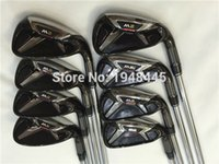 golf clubs irons - 2016 New M2 Iron M2 Golf Irons OEM M2 Golf Clubs PSw Regular Stiff Flex Steel Shaft With Head Cover