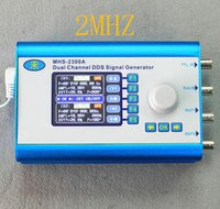 Wholesale MHS2300A MHZ Large Screen Dual channel Arbitrary waveform signal generator DDS Function Generator