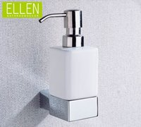 Wholesale Soap Dispenser With Ceramic liquid soap bottle shower shampoo dispenser