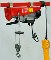 Wholesale 400KG M length Homework single phase V HZ Electric winch small volume lifting hoists upper limit position