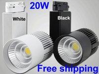 Wholesale 20W COB LED Track Lighting LM LM V V Spot Led Light Rail Track Industrial Modern Led Lights For Clothing