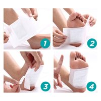 Wholesale Retail Cleansing Foot Detox Pad Kinoki Foot Care Supply with DHL