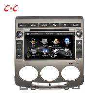 Écran capacitif mis à jour --- Lecteur DVD de voiture pour Mazda 5 2005-2009 avec la navigation GPS de radio SWC Lien de miroir de BT + carte de carte 8G libre!