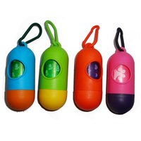 dog toilet - Basics Dog Waste Bags with Dispenser and Leash Clip Pet Dog Bags Case Bone Type Dispenser For Pet Poop Waste Bags Pooper Scoopers for Doggy