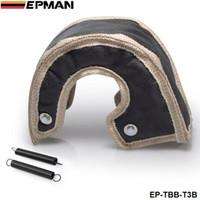 Wholesale EPMAN High Quality T3 turbo blanket Glass fiber hand made quality guaranteed EP TBB T3B Default Color Black