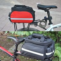 Wholesale Convertible Bicycle Luggage Bag Road Mountain Bike Rear Seat Rack Cargo Carrier Container Bag
