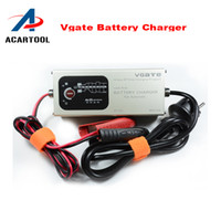 Wholesale Fully Automatic V A Smart Lead Acid Battery Charger with Temperature Compensation MXS DHL free