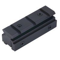 Wholesale Picatinny mm to mm Dovetail to Weaver Rail Mount Base Adapter Scope Mount Converter For Rifle Flashlight Laser Sight