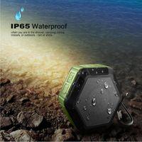 Wholesale IP65 Waterproof Wireless Stereo Portable Outdoor Bluetooth Speaker Handsfree Super Mini Wireless Shower Outdoor Sport Climbing Stereospeaker