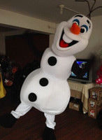 Wholesale High quality Olaf mascot costume Elsa queen mascot costume and princess Anne mascot Adult size