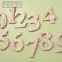 Wholesale Wooden Letters Digit Decoration DIY Original Wedding Decoration Hand Made House Letter Digit Decoration