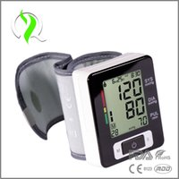 Wholesale Intelligent Technology CE FDA Approval Fully Automatic Digital Wrist Blood Pressure Monitor and Pulse Monitor Sphygmomanometer Home Care