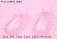 Wholesale 30 PAIRS Clear Plastic Baby Feet display baby booties shoes